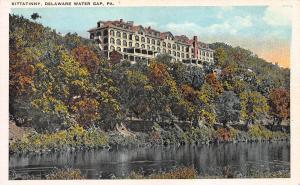 Kittatinny, Delaware Water Gap, Pennsylvania, Early Postcard, Unused