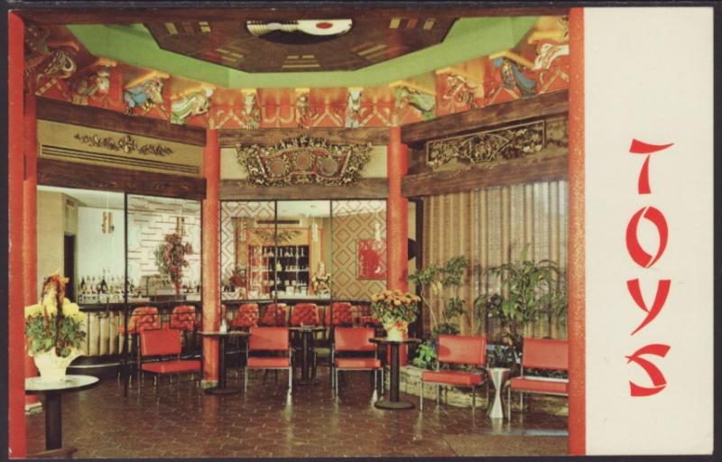 Interior Toys Restaurant Milwaukee Wi Postcard Hippostcard