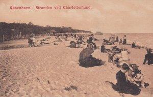 KOBENHAVN, Denmark, 1900-10s; Stranden ved Charlottenlund