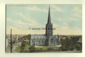 cu1569 - Parish Church , Goole , Yorkshire - postcard