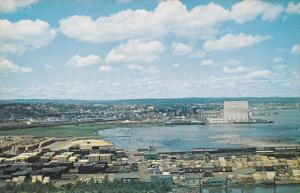 View of the Dock, PORT ARTHUR, Ontario, Canada, 40-60s