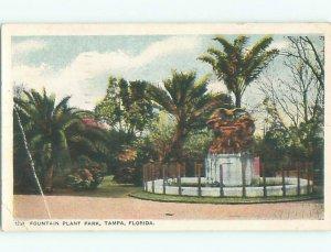 W-border PARK SCENE Tampa Florida FL AF7433