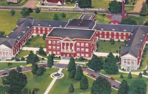 South Carlina Columbia Aerial View Of Columbia College