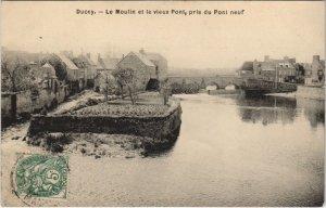 CPA DUCEY Le Moulin et le vieux Pont pris du Pont neuf (152981)