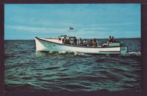 Mac's Deep Sea Fishing PEI Canada Postcard 3556