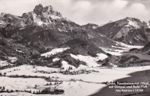 RP: Gran, Tannheimertal / Tirol , Mit Gimpel und Rote Fluh , Austria , 40-50s