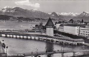 Switzerland Luzern Kapellbruecke Photo