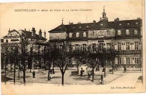 CPA MONTBÉLIARD - Hotel de Ville et la Caisse d'Épargne (183073)