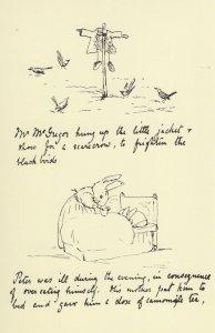 Beatrix Potter Victorian Peter Rabbit Book Shoes 1893 Letter Postcard