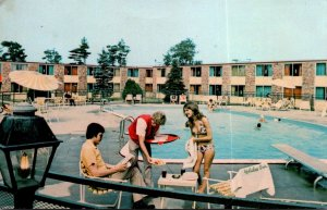 Maine Portland Holiday Inn West Swimming Pool Riverside Street