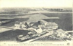 Waterloo, France, Carte, Postcard Panorama de la Plaine Waterloo Panorama de ...