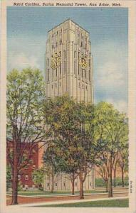 Michigan Ann Arbor Bafrd Carillon Burton Memorial Tower