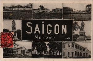 CPA VIETNAM INDOCHINE-Saigon-Militaire (321337)