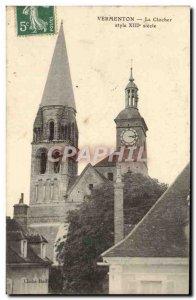 Old Postcard Vermenton The Belfry