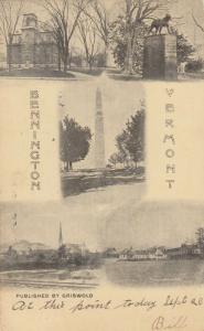 BENNINGTON , Vermont , PU-1905; 5-views