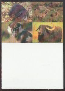 Multiple Animals Postcard BIN
