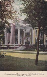 Commandant's Headquarters, State Soldiers' Home, Lafayette, Indiana,00-10s