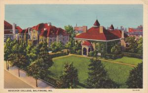 Goucher College, BALTIMORE, Maryland, 1930-1940s