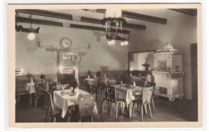 Restaurant Wilhelm Marhold Wien Vienna Austria RPPC postcard