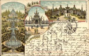 Tervuren Belgium 1897 Used Postcard