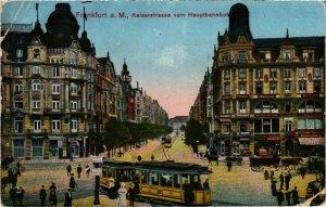CPA AK Frankfurt a.m.- Kaiserstrasse GERMANY (1027279)