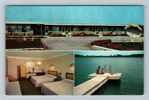 Ontario- Canada, River Bell Hotel, Niagara Parkway, Chrome Postcard