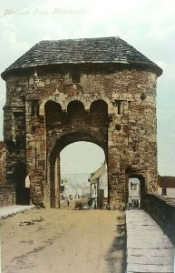 Vintage Postcard Monnow Gate Monmouth c1910