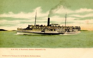 Eastern Steamship Co. - SS City of Rockland