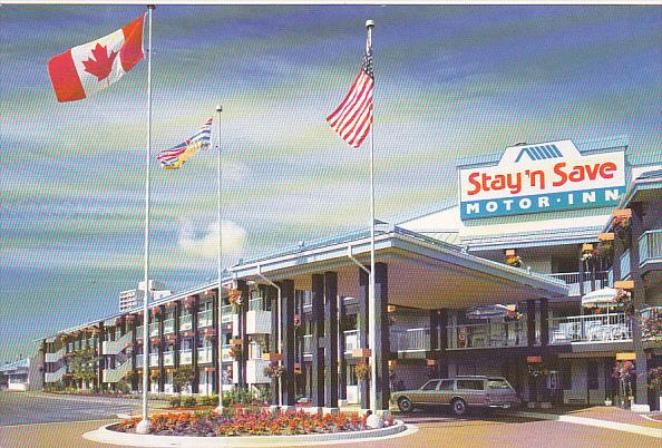 Canada Stay N' Save Motor Inn At Vancouver Airport Richmond British Columbia