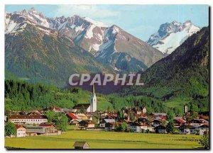 Modern Postcard Oberstdorf Allgau