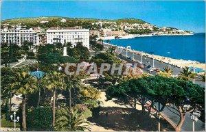 Postcard Modern 16,575 riviera nice Promenade des Anglais the theater of gree...