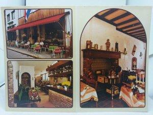 Vintage Postcard Multiview Hotel Lennards Valkenburg aan de Geul Netherlands
