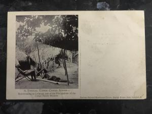 Mint RPPC Real Photo Postcard Missionary Hair Dressing in the Congo