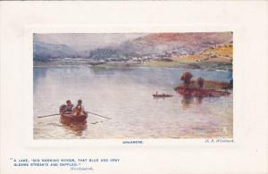 Raphael Tuck & Sons', #9700; GRASMERE, Scotland, 1900-1910's; A Lake, Row Boa...
