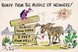 New Mexico Humour Deming Howdy From The Middle Of Nowhere