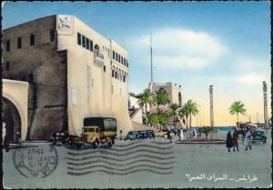 libya, TRIPOLI, Il Castello, The Castle, Truck (1957)