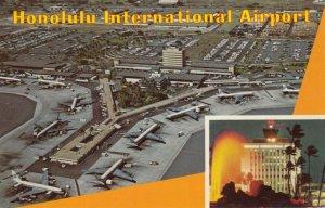 HONOLULU, Hawaii, 1970 ; Airport
