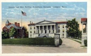 Transylvania University Lexington KY unused