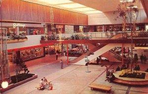MINNEAPOLIS, MN Minnesota  SOUTHDALE CENTER~MALL Garden Court~Buttrey's Postcard
