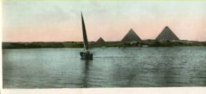 Africa - Egypt, The Pyramids During the Flood