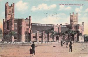 PROVIDENCE , Rhode Island , PU-1910; The New State Armory