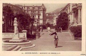 MONUMENT DE BERLIOZ MONTE-CARLO MONACO