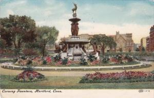 Connecticut Hartford Corning Fountain 1907