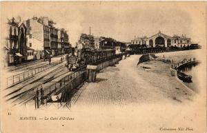 CPA Nantes La Gare d'Orleans (610764)