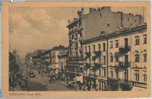 66359 - Polen POLAND - Ansichtskarten  VINTAGE POSTCARD -  WARSAW  Warszawa
