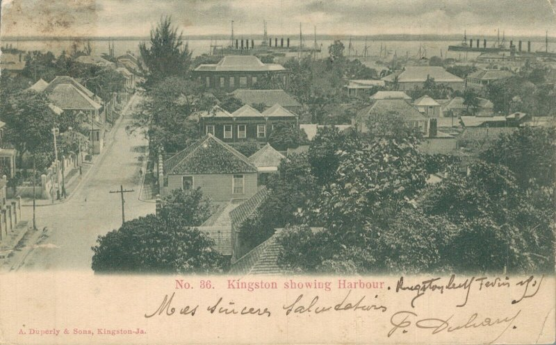 Jamaica Kingston Showing Harbour 06.98