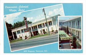 Vancouver Colonial Motor Hotel, VANCOUVER , B.C., Canada , 50-60s