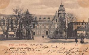 Harburg Germany Post Gruss aus Antique Postcard J60787