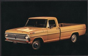 Classic Truck Dealer Postcard 1970 FORD Pickup Ride Like Cars - Chrome