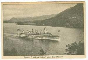 Steamer Hendrick Hudson above Bear Mountain, 1920-30s